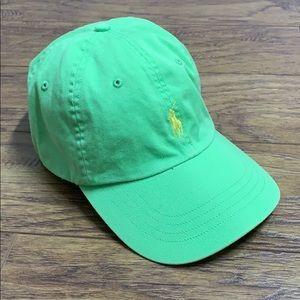 Ralph Lauren Light Green Baseball Cap